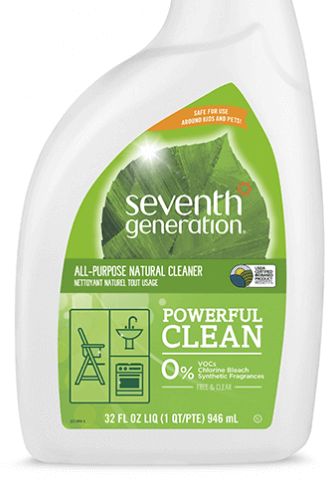 seventh generation eco friendly cleaner cleaning product