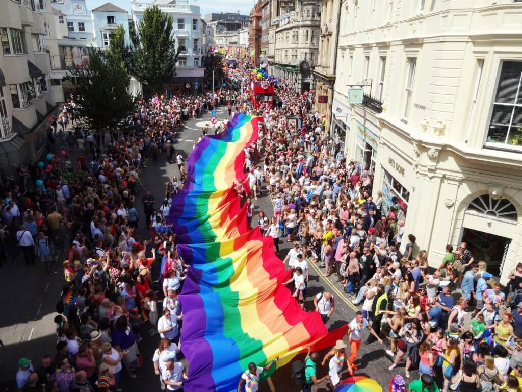 Gay pride brighton